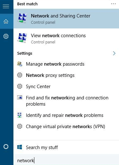 Networking and Sharing Centre