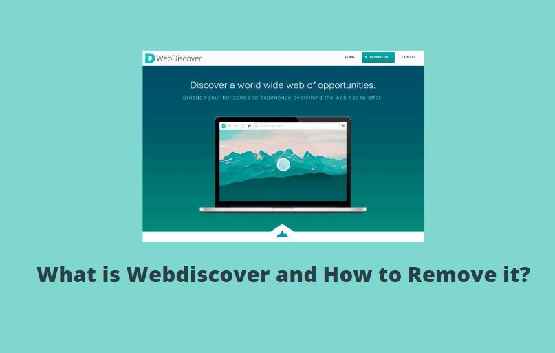 What is Webdiscover and How to Remove it