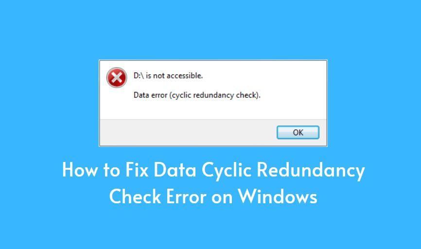 Data Cyclic Redundancy Check