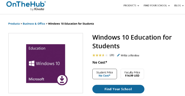 Get Windows 10 Free or Cheap Using OnTheHub