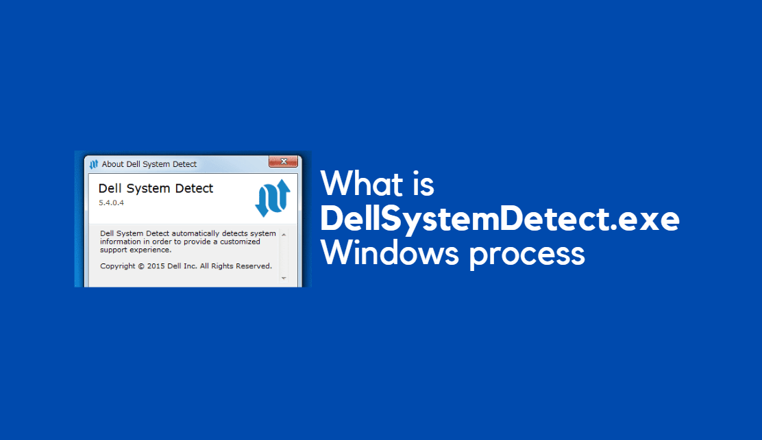 DellSystemDetect.exe Windows proces
